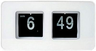 Vosarea Reloj eléctrico Plegable, Novedad, Vintage, Retro, Reloj de Cuarzo, Fecha