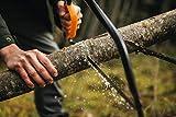 Fiskars Bügelsäge mit feststehendem Blatt für feuchtes Holz, Länge: 61 cm (24 Zoll), Inklusive Sägeblattschutz, Hochwertiger Stahl, Schwarz/Orange, SW31, 1000615 - 4