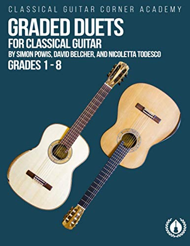 Graded Duets for Classical Guitar: Progressive Pieces from Beginner to Advanced
