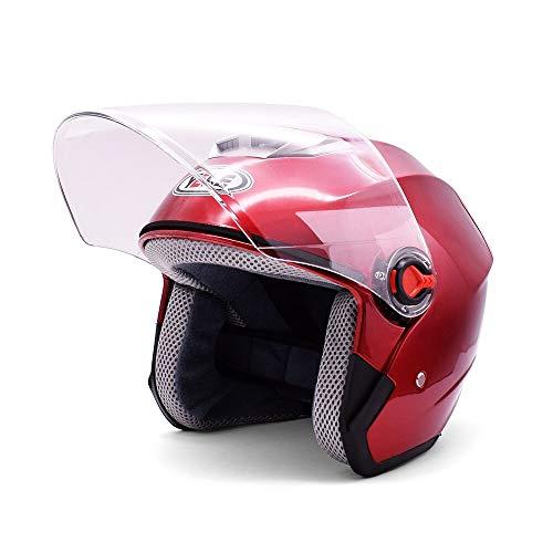 Nobranded Motorradhelme Männer Frauen Universal Half Helmet Electric Moto Zubehör Für Ducati