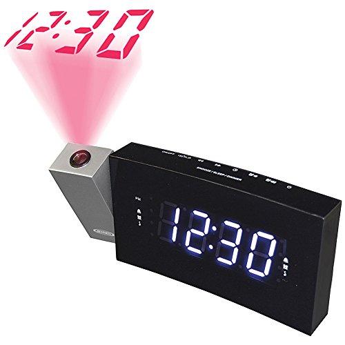 Despertador Con Proyector  marca Jensen