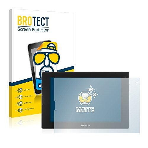 BROTECT 2X Entspiegelungs-Schutzfolie kompatibel mit Medion Lifetab P8912 (MD99066) Bildschirmschutz-Folie Matt, Anti-Reflex, Anti-Fingerprint