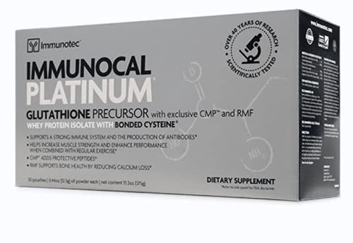 Immunotec Immunocal Platinum (30 pouches) - NEW PACKAGING COMING SOON
