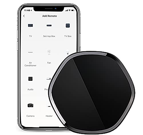 IR Universal Remote Control, Smart Home Wi-Fi Infrared Blaster for TV Air Conditioner STB, Compatible with Alexa, Google Home, IFTTT (3.7v 450mah)