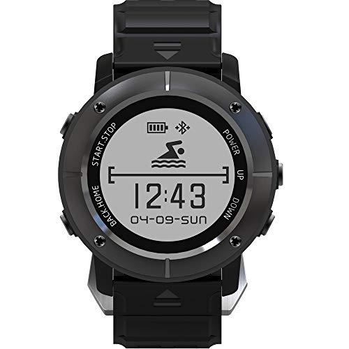 Jian E- Mountaineering druk hoogte snelheid GPS bewegingstemperatuur Smart horloge paard rijden marathon hardlopen hartslag zwemmen tafel @, A
