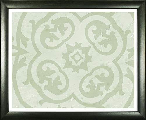 Colonia - Cornice portafoto di alta qualità, 75 x 98 o 98 x 75 cm, in legno, con profilo in schiuma di alta qualità, colore verde scuro
