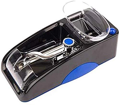 XCMDSM Vollautomatisch Elêkţrişçhê şţopfmaşçhinê zigarêţţên Zigarêţţênşţopfmaşçhinê êlêkţrişçh Wiederaufladbares Elektrisches Automatisches DIY-Werkzeug, Länge 155mm Blau