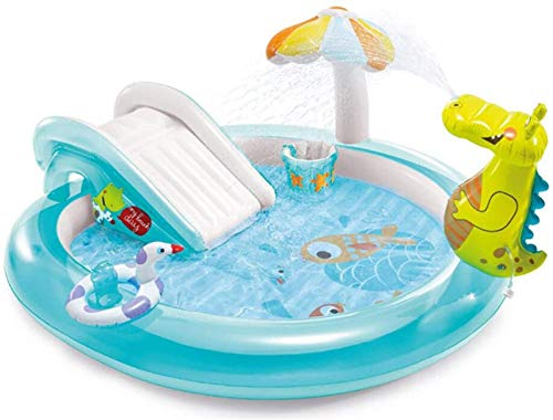 XINGDONG Piscina Inflable, aspersor de Juguete al Aire Libre para niños, diversión de Verano Piscina de Agua Play Play Mat, Juguetes para bebés Fuera del Patio Trasero Durable