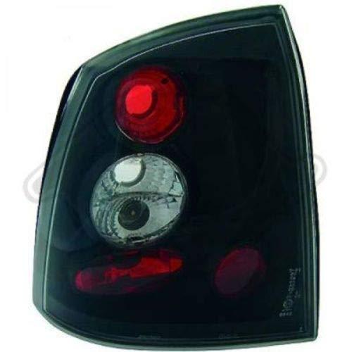 in.pro. 1805395 HD achterlichten Opel Astra, bouwjaar: 97-04, 2/4-deurs, helder zwart