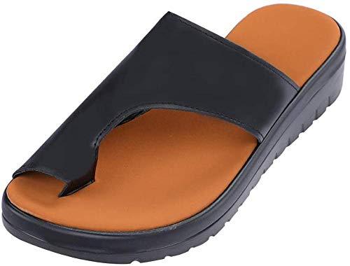 KIDsstz Mujeres Cómodas Sandalias Corrector De Juanetes Ortopédico para Mujeres Zapatos Ortopédicos de Corrección de pie de Dedo Gordo Corrector de Juanetes Ortopédico