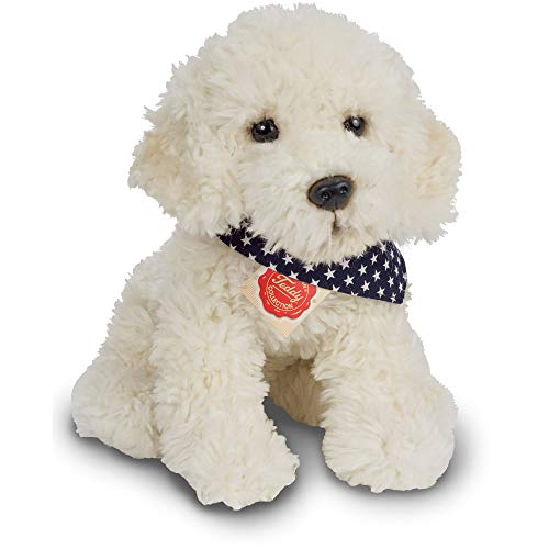 Hermann Teddy Collection Labradoodle sitzend, ca. 30cm, bunt