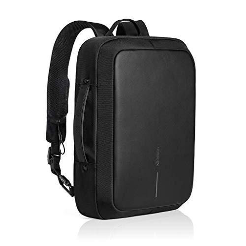 Original Genuine XD design Bobby BIZZ Diebstahl Rucksack & Aktentasche Anti Theft Backpack & Briefcase Black