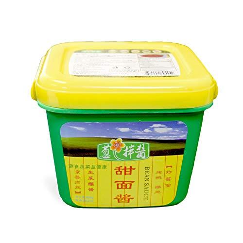 Cong Ban Jiang Bean Sauce 葱拌酱 800g (Bean paste甜面酱, Pack of 2)