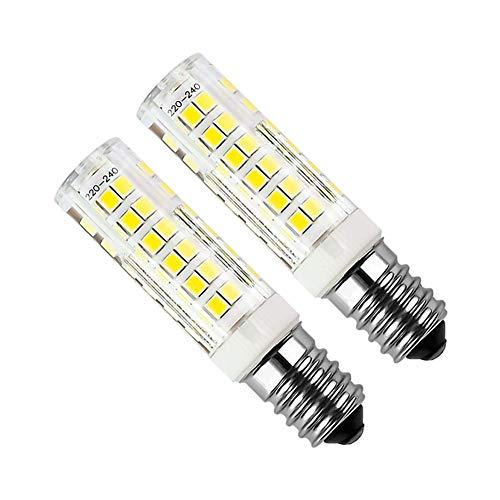 OUTANG GlüHbirne Backofen Led GlüHbirne Glühbirnen für Haus LED Glühbirnen Schraubbefestigung LED-Glühbirnen für die Innenbeleuchtung LED-Glühbirnen E14 cool White