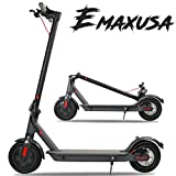 Emaxusa Electric Scooter for Adults,US Federal Agency Safety UL Certified,8.5' Air Tires 350W Motor Speed 15.8 MPH,Up to 16 Miles,Long Range Battery,Portable Folding Electric Scooters for Adults