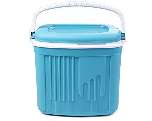 Ondis24 Kühlbox, 32 Liter, 47 x 33 x 42 (H) cm, Thermobehälter Auto, Kühltruhe, Eisberg, thermoisoliert, blau
