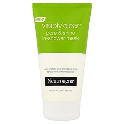 Neutrogena Visibly Clear Pore and Shine InShower mask, Tangerine, 150 millilitre by Johnson & Johnson Ltd