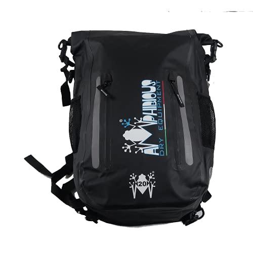 Amphibious Backpack Compact NEGRO