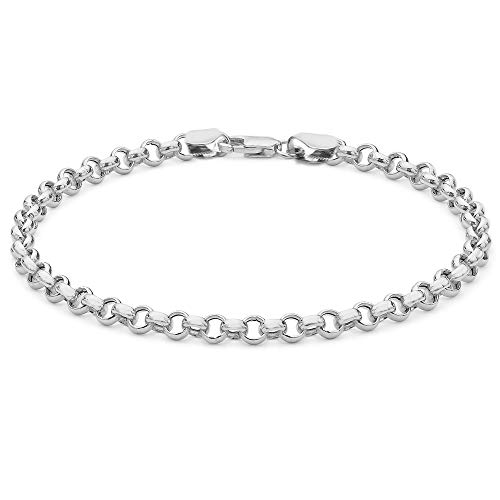Tuscany Silver Damen - Armband 925 Sterling Silber Rundschliff Diamant 8.24.6012