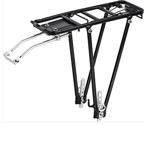 AllRight Fahrrad Gepäckträger Universalbefestigungsset Universal Aluminium Schwarz 24