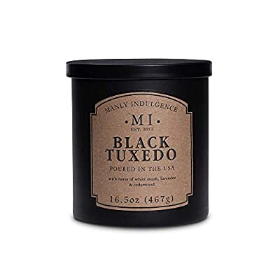 Manly Indulgence Midnight Scented Candle - 1 Wick - 16.5 Oz.