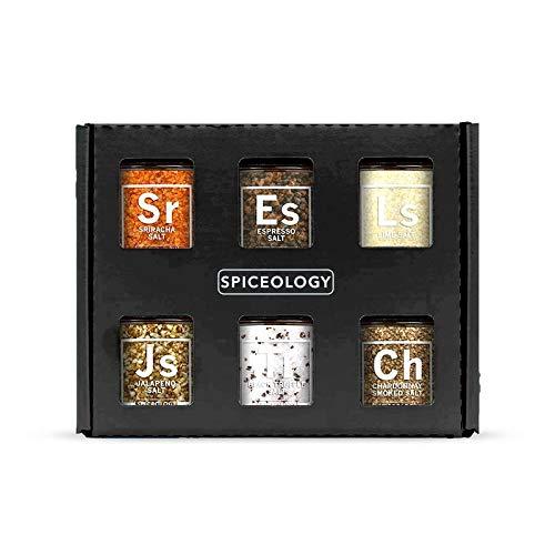 Luxe Infused Salt Gift Set - Spiceology Infused Salt Gift Set - 6 Pack