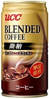 UCC ブレンドコーヒー微糖 (185g缶×30本入)×3ケース