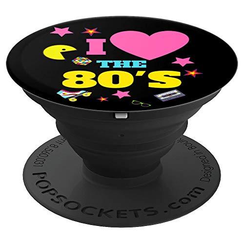 Rollschuhe 80er Jahre Spiele Geschenke 1980er Jahre - PopSockets Ausziehbarer Sockel und Griff für Smartphones und Tablets