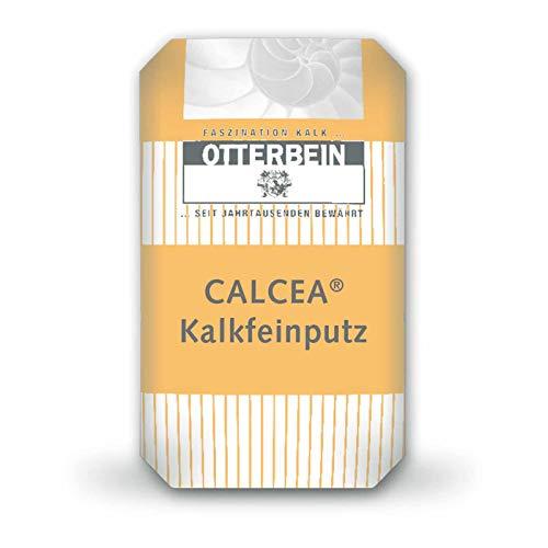 OTTERBEIN CALCEA® Kalkfeinputz 25 kg werksgemischter natürlicher Kalk nach EN 459-1 - besonders für den ökologischen Hausbau oder Denkmalpflege, Inhalt:25 kg