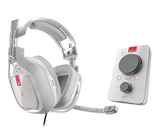 ASTRO Gaming A40 TR Casque Gamer Filaire + MixAmp Pro TR, Gén 3, Son Dolby 7.1 Surround, Sortie Stream Personnalisable, Micro Intechangeable, Tags Personnalisables, Poids Léger, PC/Mac/Xbox One