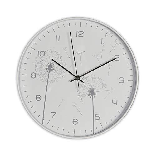 Casablanca - Uhr, Wanduhr - Pusteblume - Kunststoff - Ø 31cm