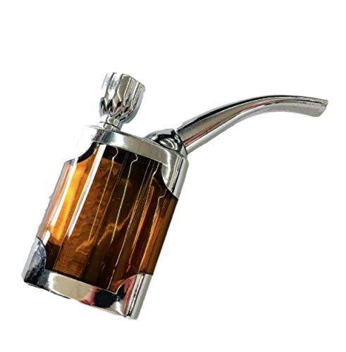 [ドナリー]水パイプ ボング 喫煙具 ハンドパイプ ミニ 携帯サイズ (ブラウン)