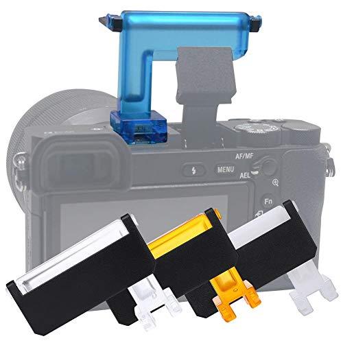 EBTOOLS Diffusore Flash per fotocamere, Diffusore per Flash per fotocamera Sony A6000 / A6500 / A6300, (4 colori)
