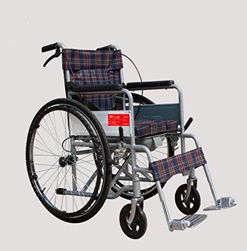 Xljh Lichtgewicht - rolstoel opvouwbare rolstoel transport rolstoel Travel rolstoel met thru as systeem