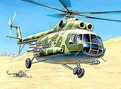 Zvezda 7230 Mil Mi-8T Hip-C 1 72 Plastic Kit by Zvezda