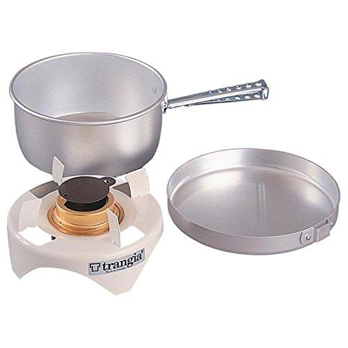 Trangia - Spirit Alcohol Stove Camping Cookset   Includes: Alcohol Stove, Pot Stand, Pot, Frypan, & Handle