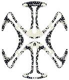 トゥー・ホイール・クール(TWO WHEEL COOL) ヘルメット用ベンチレーションライナー エアーヘッド スカル・アンド・ボーンズ