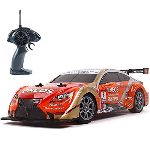 Nsddm 30+km/h Fast Super GT Racing 1/16 Model Remote Control Car 4×4...