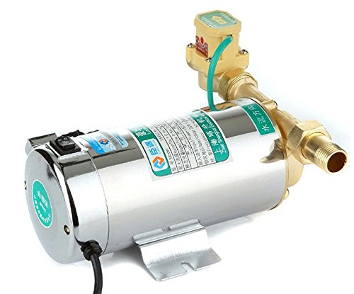 ELEOPTION Pressure Water Pump for Shower 220v 100w, Booster Water Pump, Electronic Automatic Water Booster Pump for Home Shower/Washing