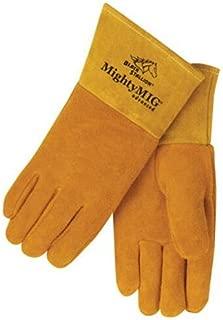Black Stallion Mighty MIG 39ADV Split Cowhide MIG Welding Gloves, Large
