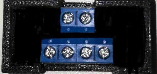 MDelectronics MD EKW DCC - 1 Kanal Weichendecoder + 1 Funktionsausgang, Entkupplungsgleismodus vergossen