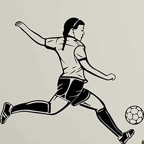 yaonuli Spielen Fußball Wandaufkleber Abnehmbare Wandaufkleber Wohnzimmer Schlafzimmer Wandbild Wandbild Wandbild 36X40cm