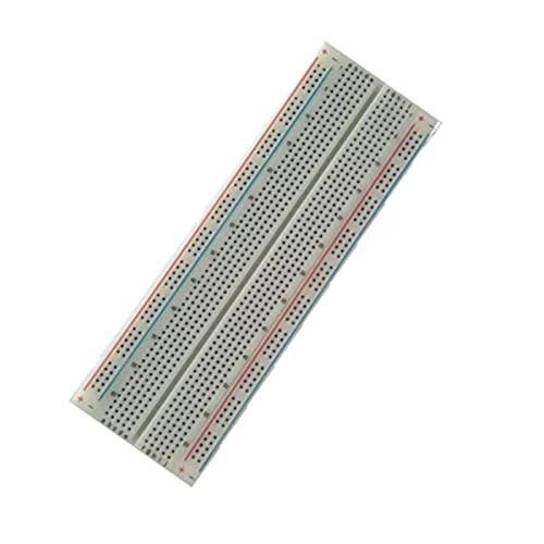 Temhyu Shuxiang-Placa PCB Breadboard 830 Point, Tablero de Pan de PCB sin Soldadura, MB-102, Prueba MB102 Desarrollar DIY para Proyecto electrónico