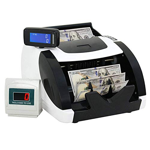 Money Counter with UV & MG, Bill Counting Machine Currency Counterfeit...