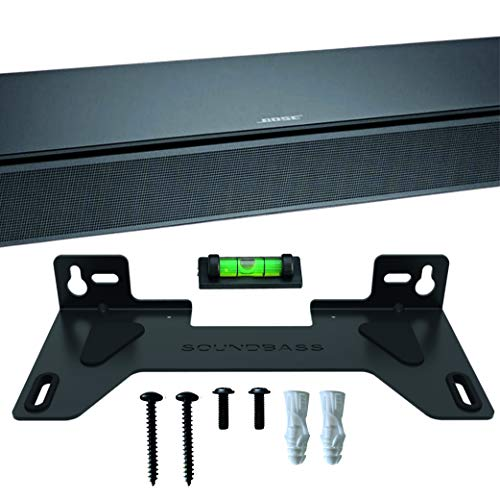 Kit de Montaje en Pared para TV Speaker Compatible con Bose TV Speakercompleto con Todo el Hardware de Montaje, Diseñado en el Reino Unido por Soundbass