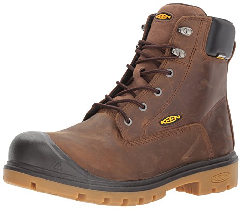 KEEN Utility Men's Baltimore 6' Steel Toe Waterproof Work Boot 10.5 D US