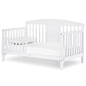 Dream On Me Dallas Toddler Day Bed, White (651-WHT)