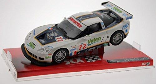 Les Voitures 1/32éme - A10075x300 - Voiture De Circuit - Chevrolet Corvette C6r Valeo