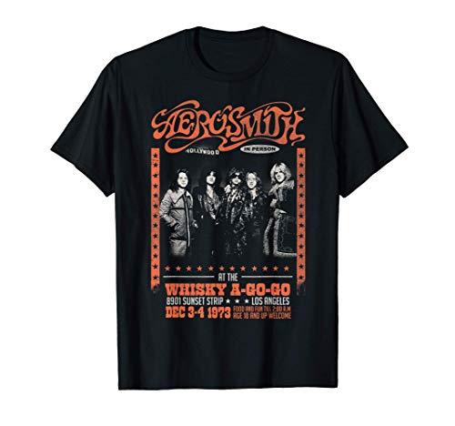 Aerosmith - Whisky A Go Go Camiseta