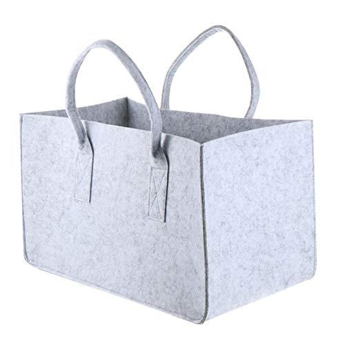 BESPORTBLE Fühlte Lagerung Beutel Bequem Brennholz Lagerung Tasche für Outdoor